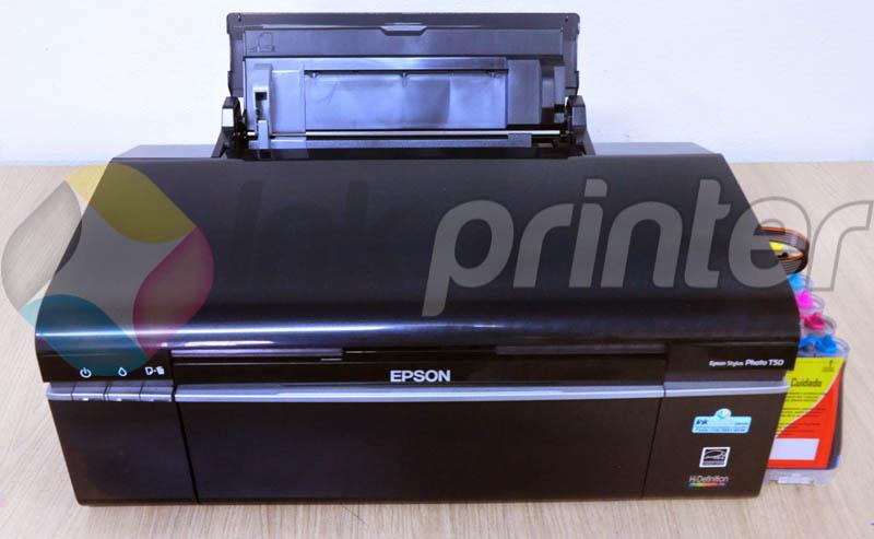 Impressora Epson T50 com bulk ink