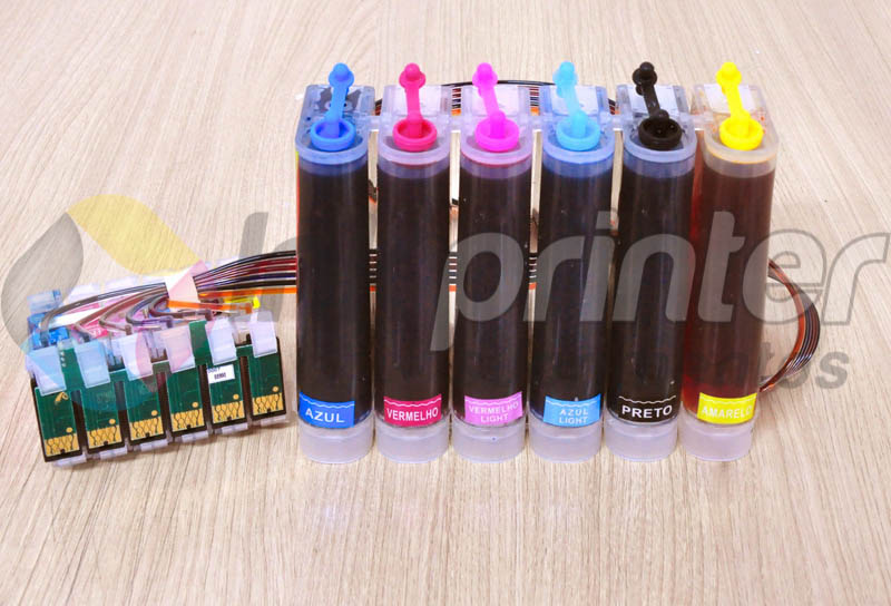 Bulk ink Epson T50 recarregado