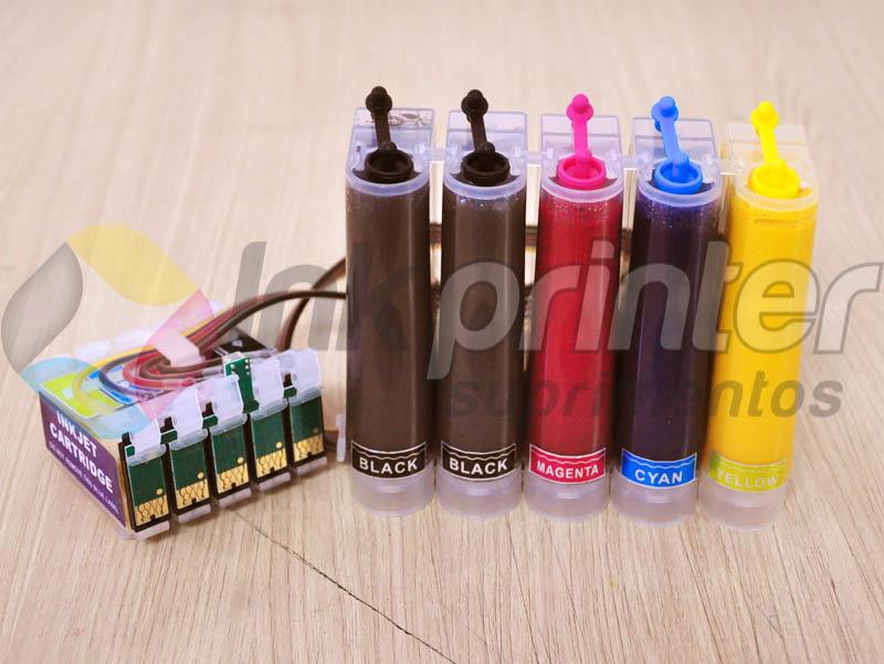 Bulk ink Epson T1110 recarregado