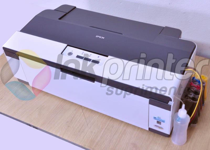 Impressora A3 Epson T1110 com bulk ink instalado