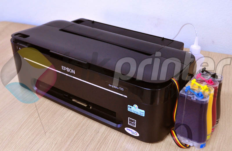 Impressora Epson T25 com bulk ink