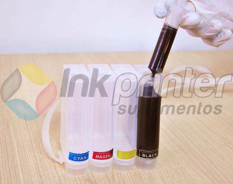 Carregando bulk ink Epson T25