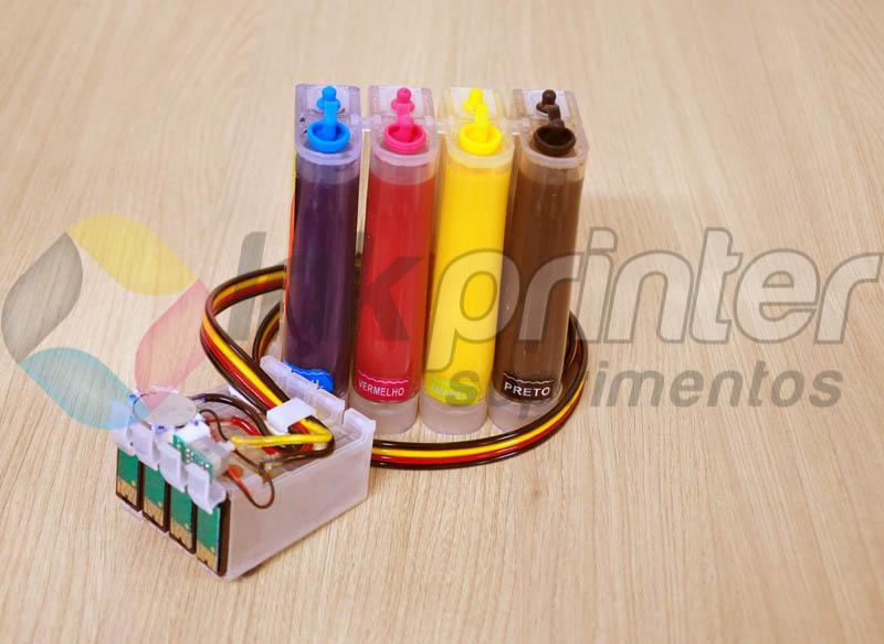 Bulk ink Epson T25 carregado