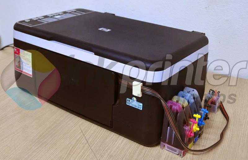 Impressora HP F4180 com Bulk Ink HP Adaptado