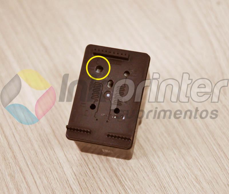 Cartuhco HP black (Preto)