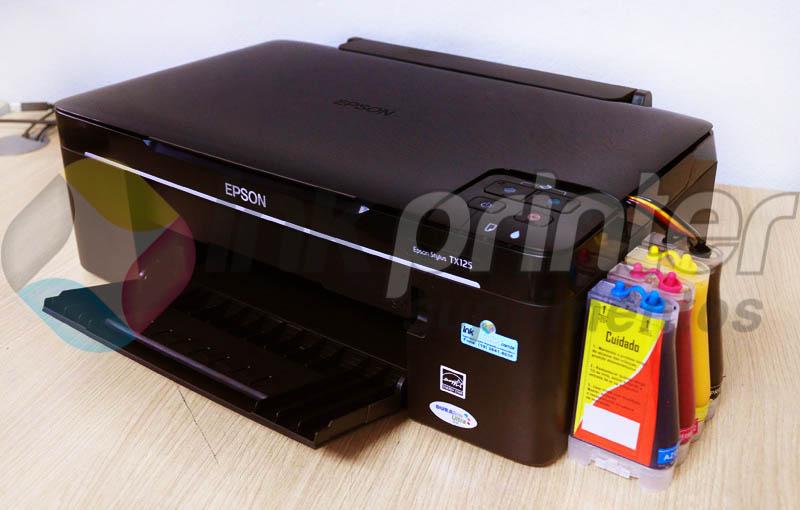 Impressora Epson TX 125 com Bulk Ink